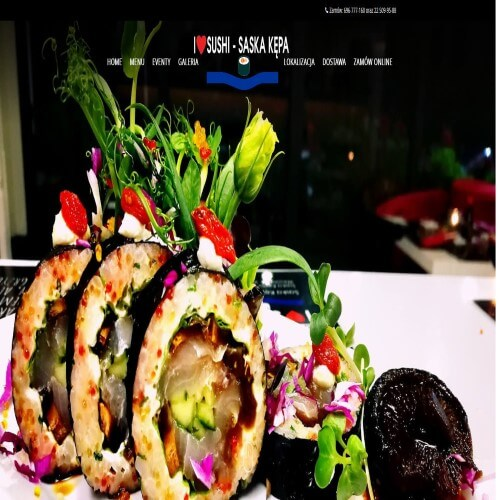 Sushi z dostawą na terenie Wesołej