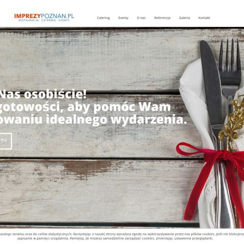 Catering na imprezy okolicznościowe - Poznań