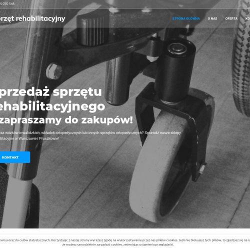 Sprzedaż sprzętu rehabilitacyjnego - Pruszków