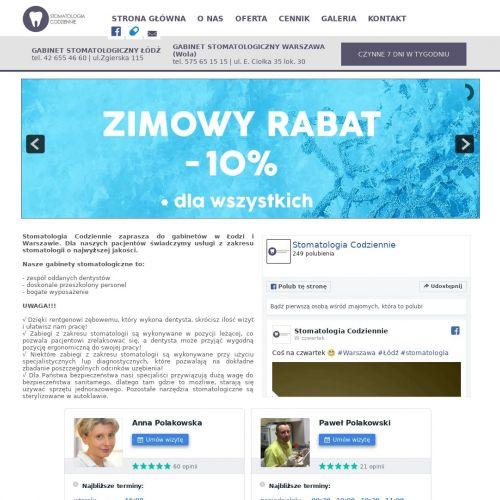 Wybielanie zębów laserem - Warszawa Wola