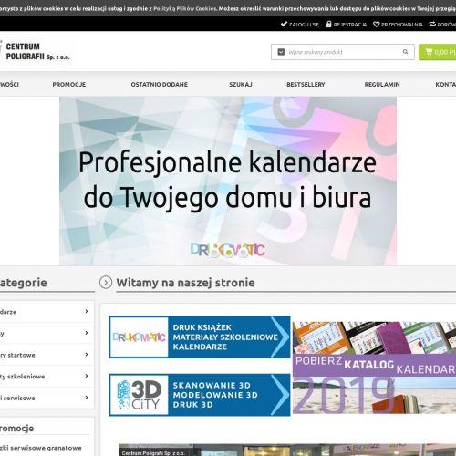 Kalendarz książkowy na zamówienie - Warszawa