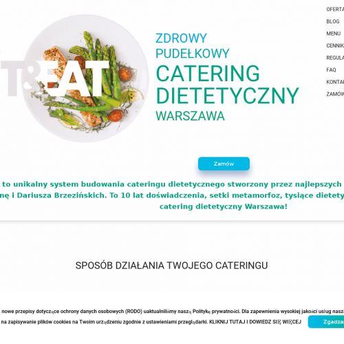 Catering dietetyczny dla firm - Warszawa