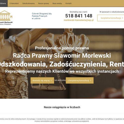 Adwokat odszkodowania - Lublin