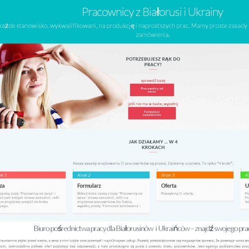 Agencja pracy - Ukraińcy