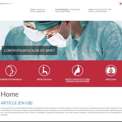 Chirurg naczyniowy w Poznaniu