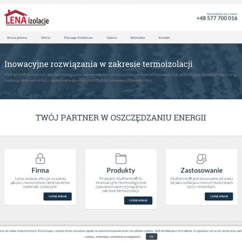 Cienka izolacja termiczna - Poznań