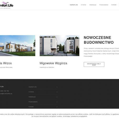 Nowe domy pod Warszawą