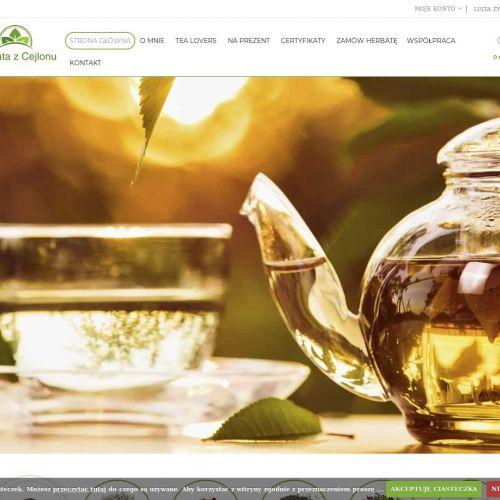Herbata zielona z cejlonu