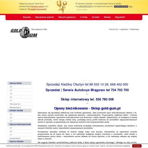 Opony wielosezonowe