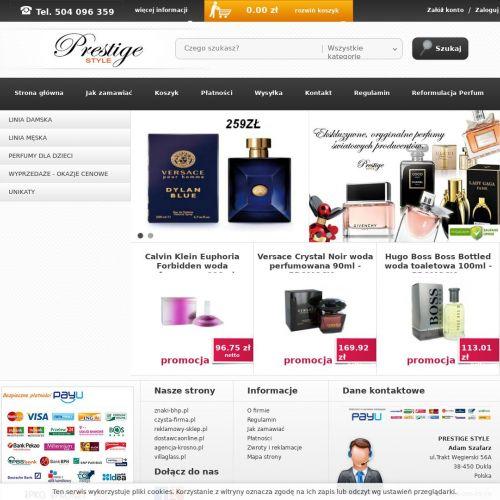 Testery perfum damskich