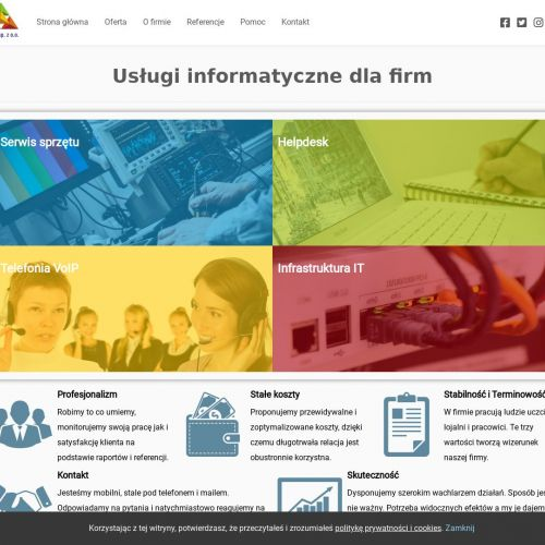 Usługi informatyczne w Warszawie
