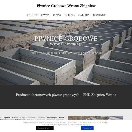 Gotowe grobowce betonowe