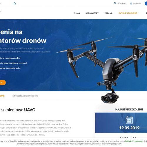 Kursy na operatora drona