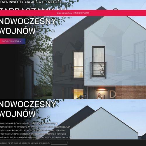 Zamknięte osiedle we Wrocławiu