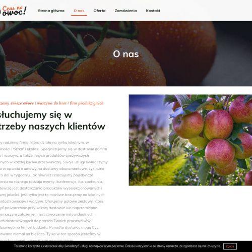 Owoce do biur i firm w Poznaniu