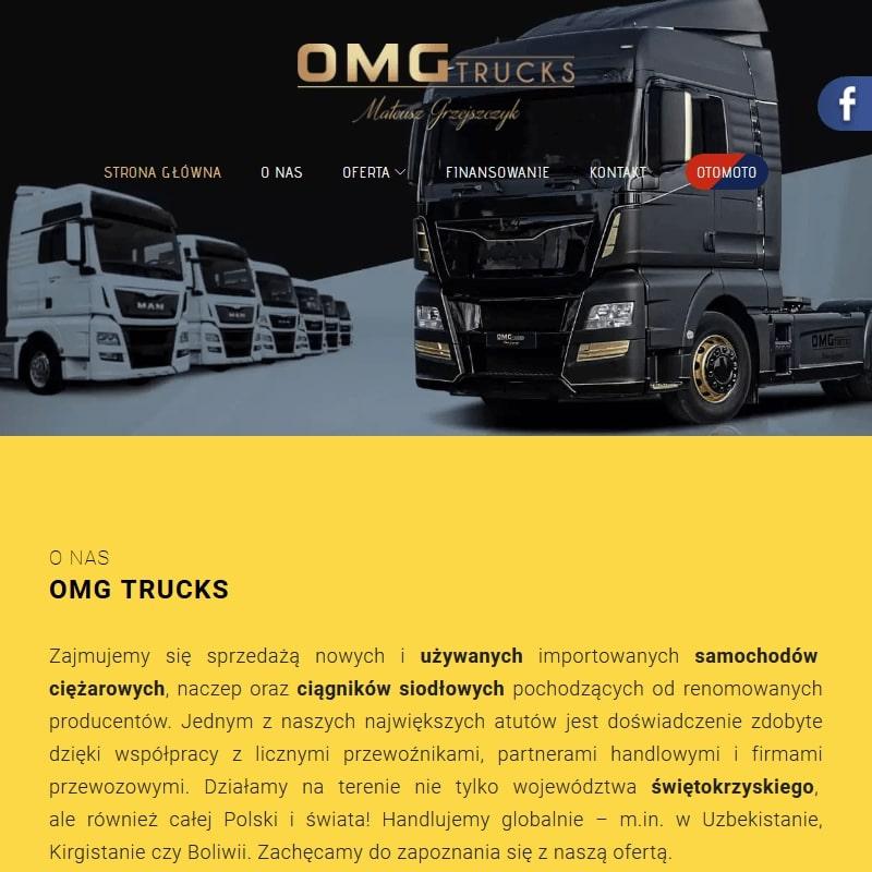 Sprzedaż samochodów ciężarowych