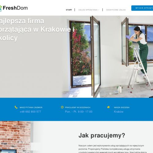 Sprzątanie klatek schodowych w Krakowie