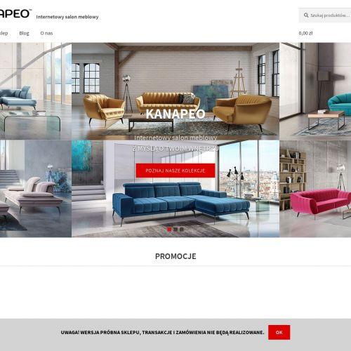 Internetowy salon meblowy Kanapeo