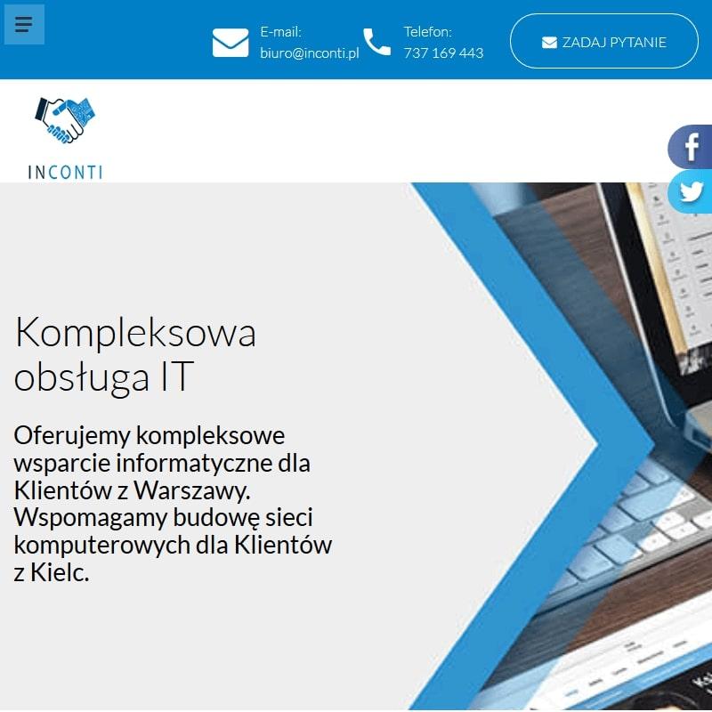 Zdalne usługi informatyczne w Kielcach