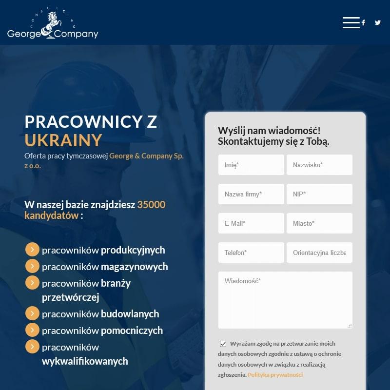 Oferty pracy dla pracowników z Ukrainy
