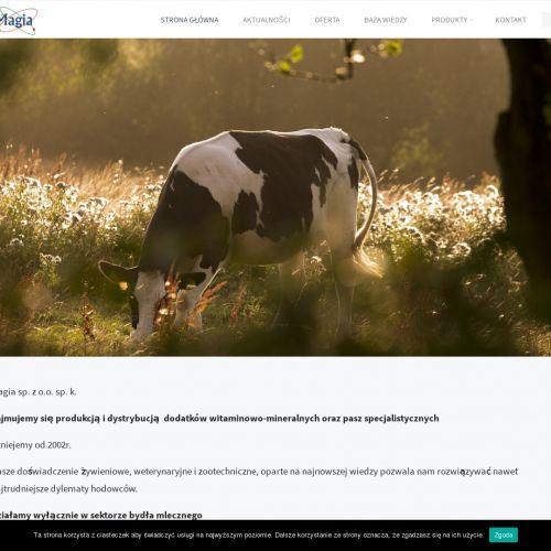 Witaminy chronione dla krów mlecznych