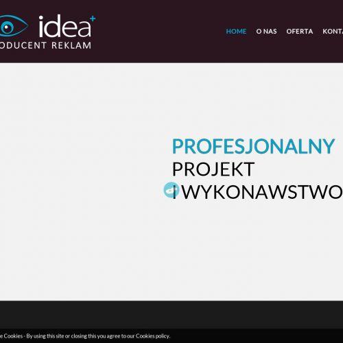 Konstrukcje reklamowe – Poznań