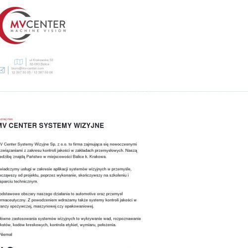 Kamery wizyjne i aplikacje do systemów