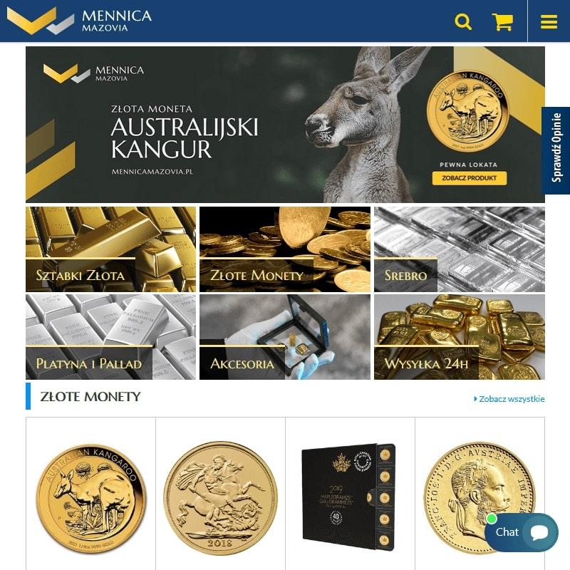 Srebrne monety bulionowe