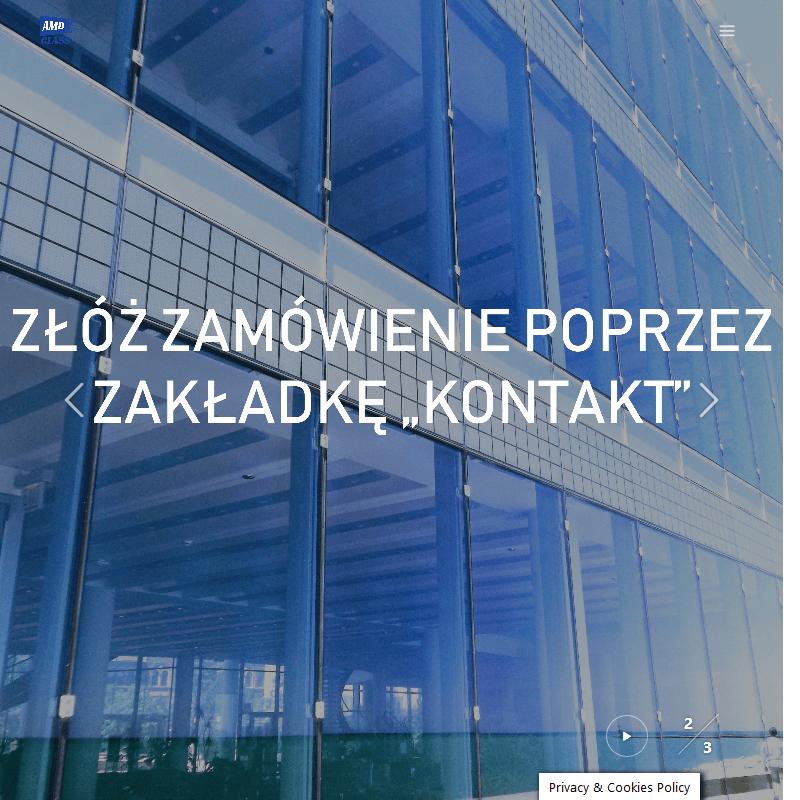 Balustrady szklane - Warszawa