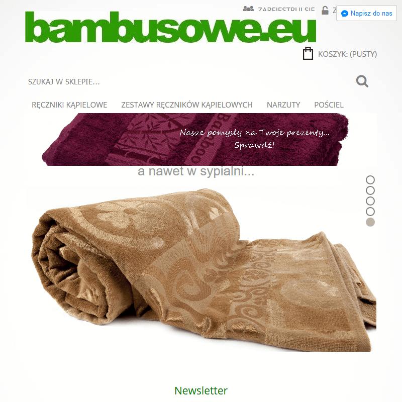 Dywanik bambusowy do łazienki