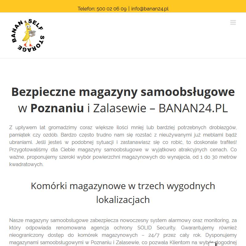Komórki magazynowe w Poznaniu