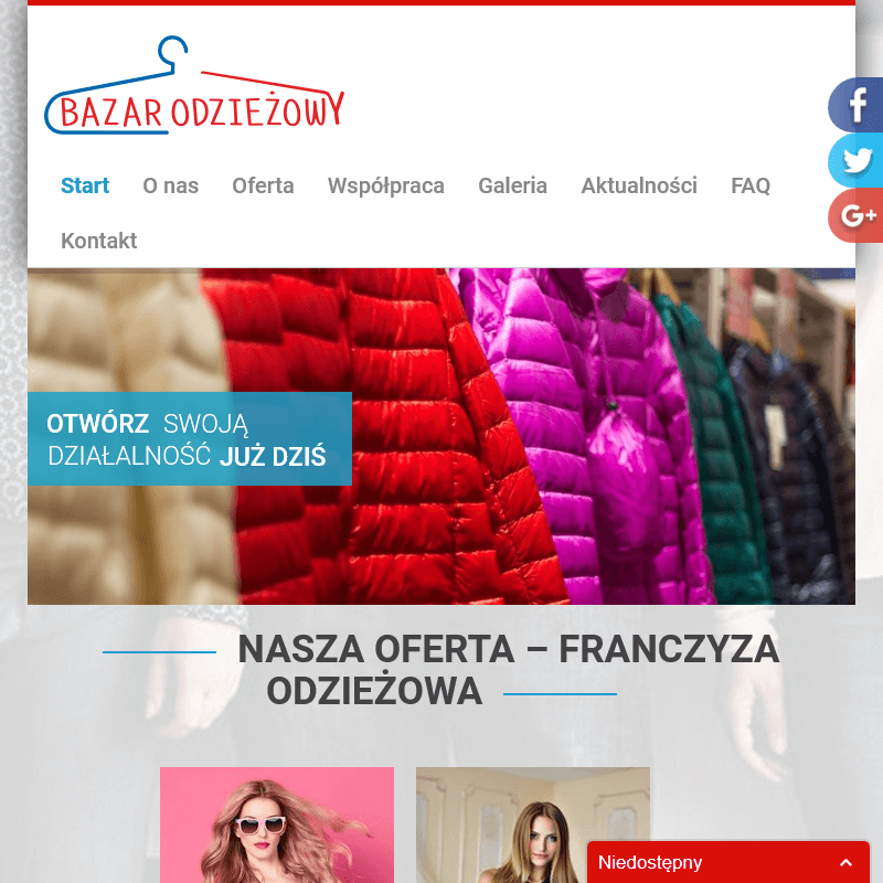 Hurtownia odzieży outletowej - Poznań