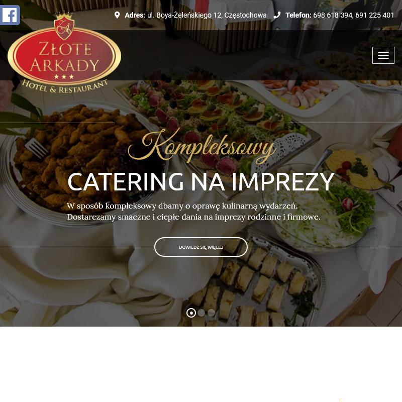 Catering z dostawą do domu - Częstochowa
