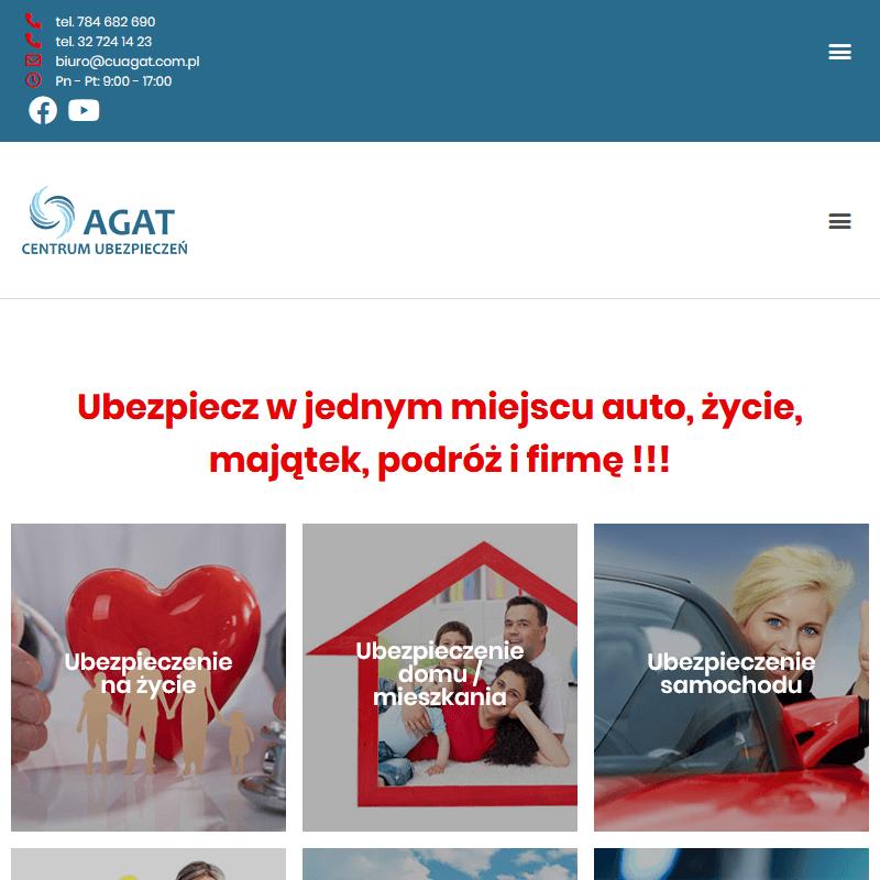Centrum ubezpieczeń AGAT w Rudzie Śląskiej