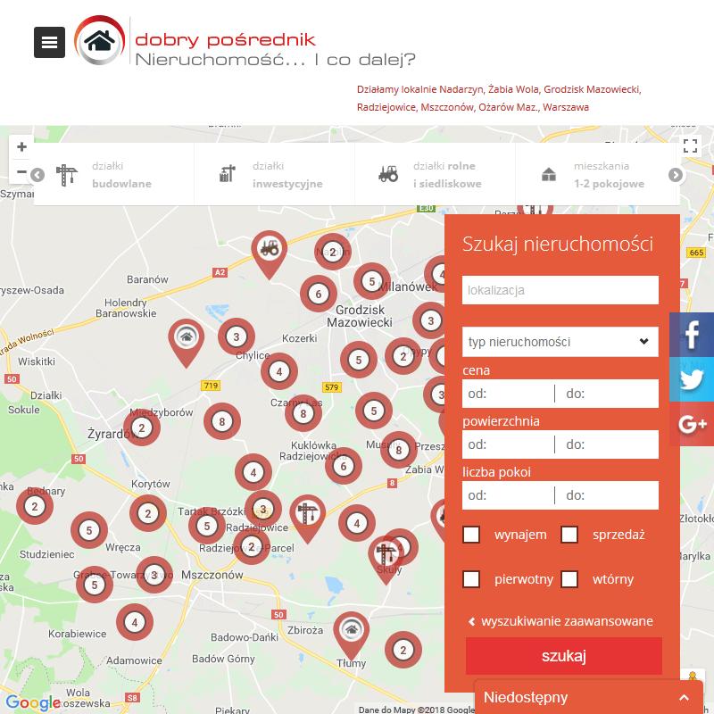 Działki siedliskowe - Radziejowice