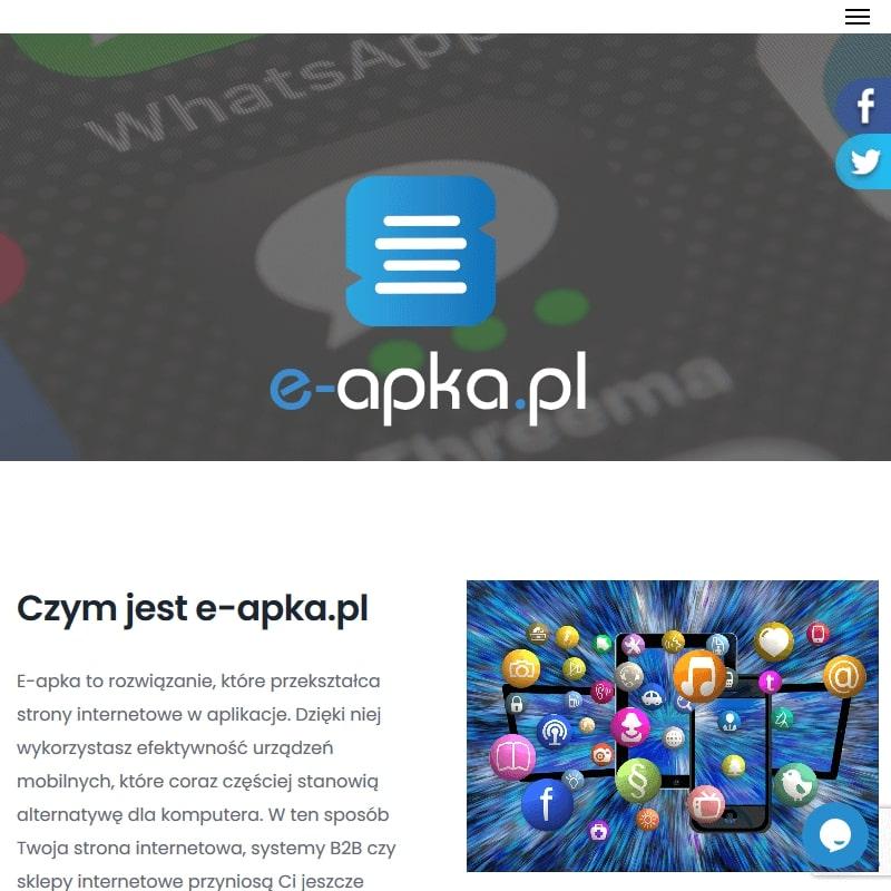 Budowa aplikacji mobilnych dla stron