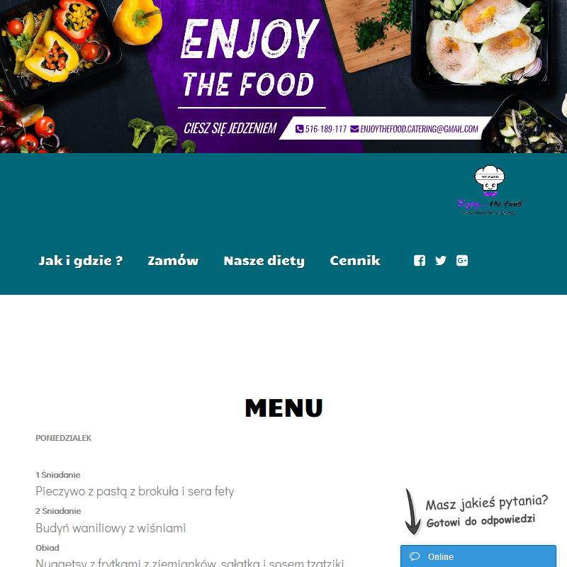 Catering dietetyczny dla firm - Poznań