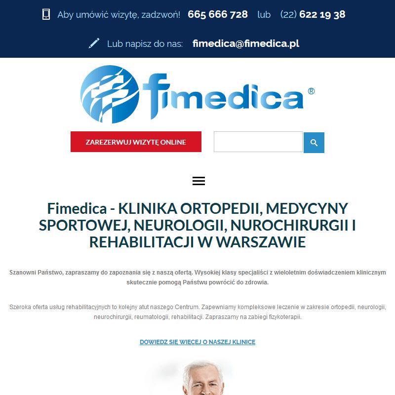 Rehabilitacja kolana - Warszawa