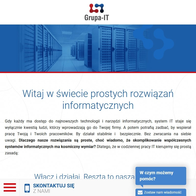 Usług IT dla firm z Warszawy