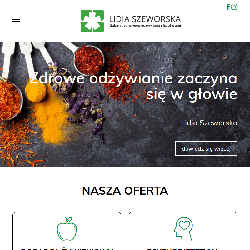 Doradca żywienia - Warszawa