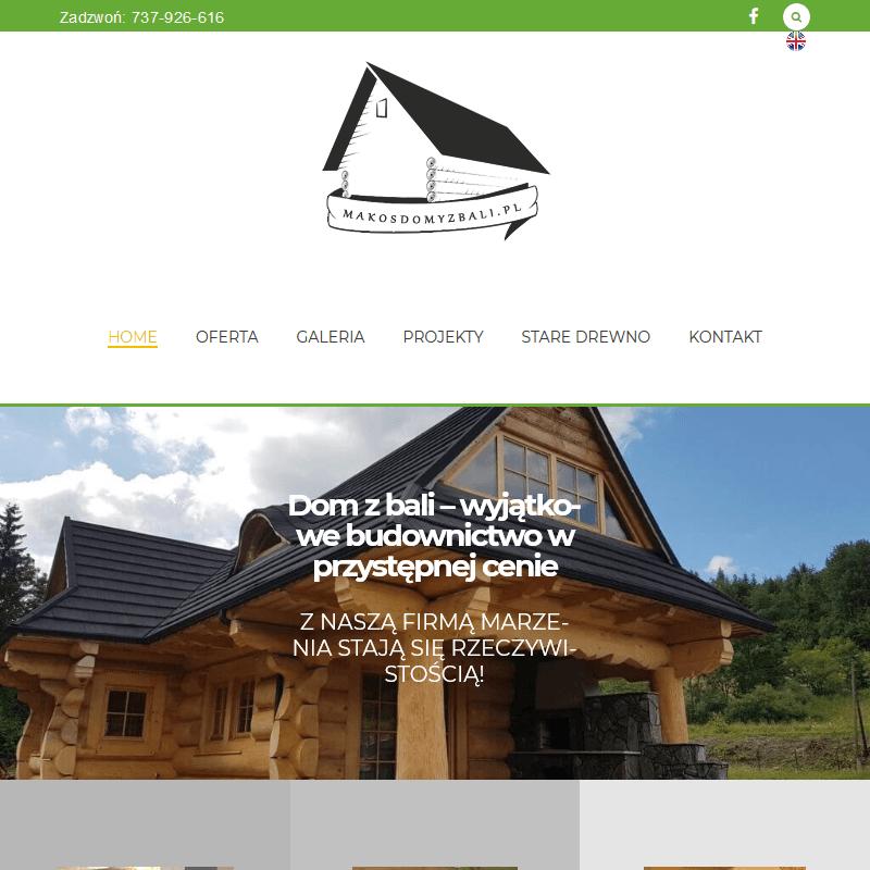 Producent domu drewnianego