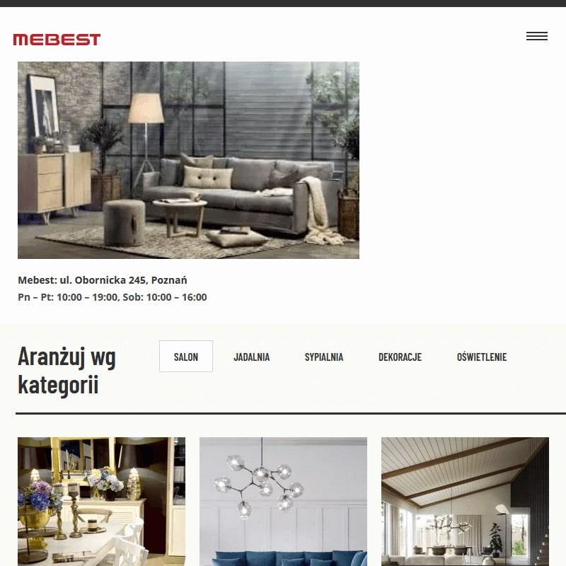 Galeria wnętrz Mebest w Poznaniu