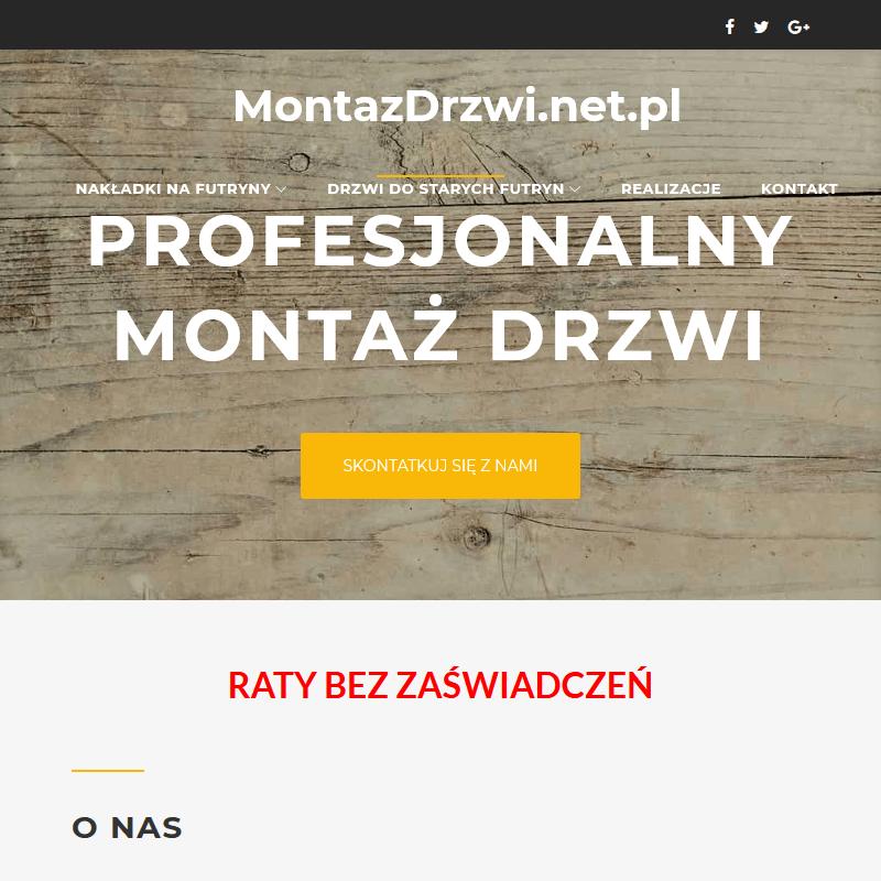 Zabudowa futryn - Wrocław