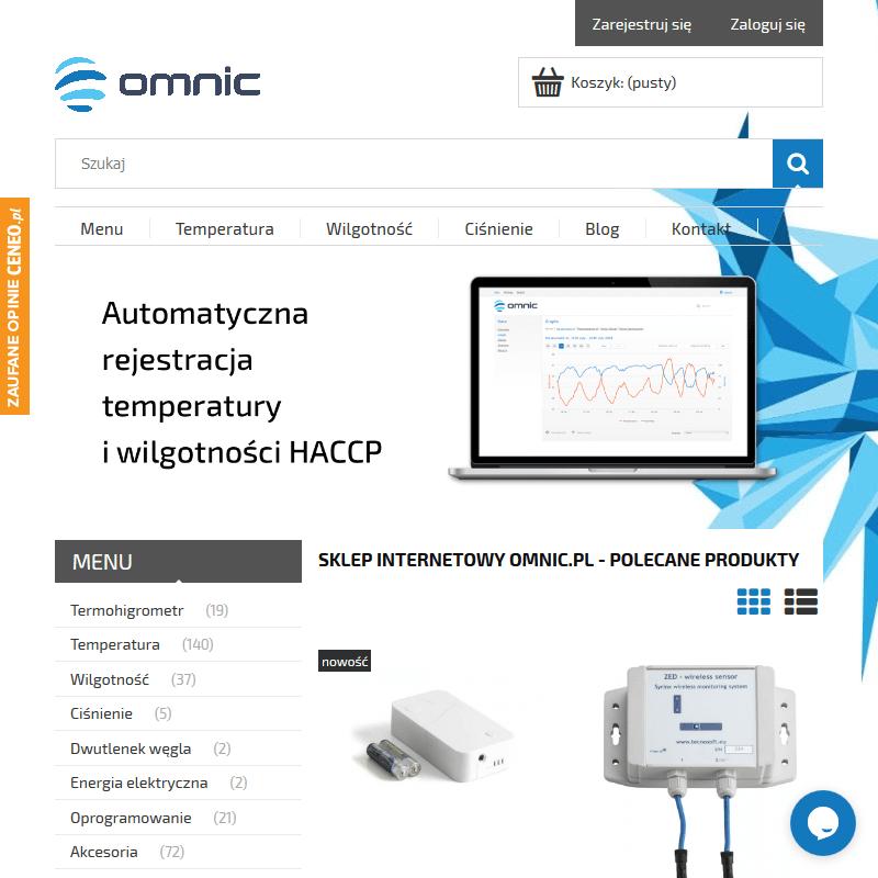 Certyfikowane rejestratory temperatury