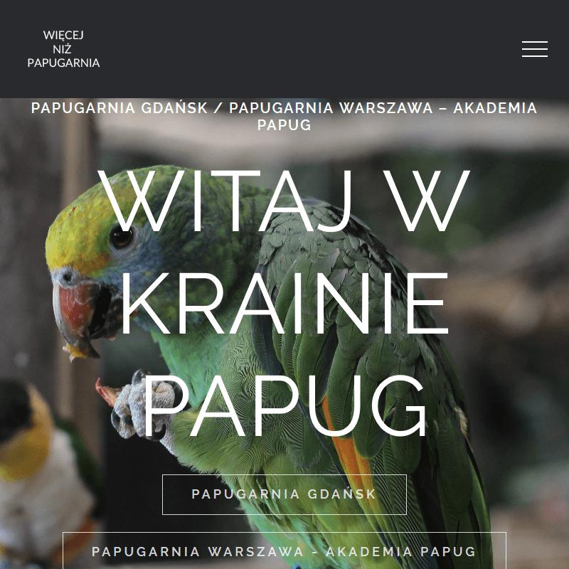Karmienie papug - Warszawa