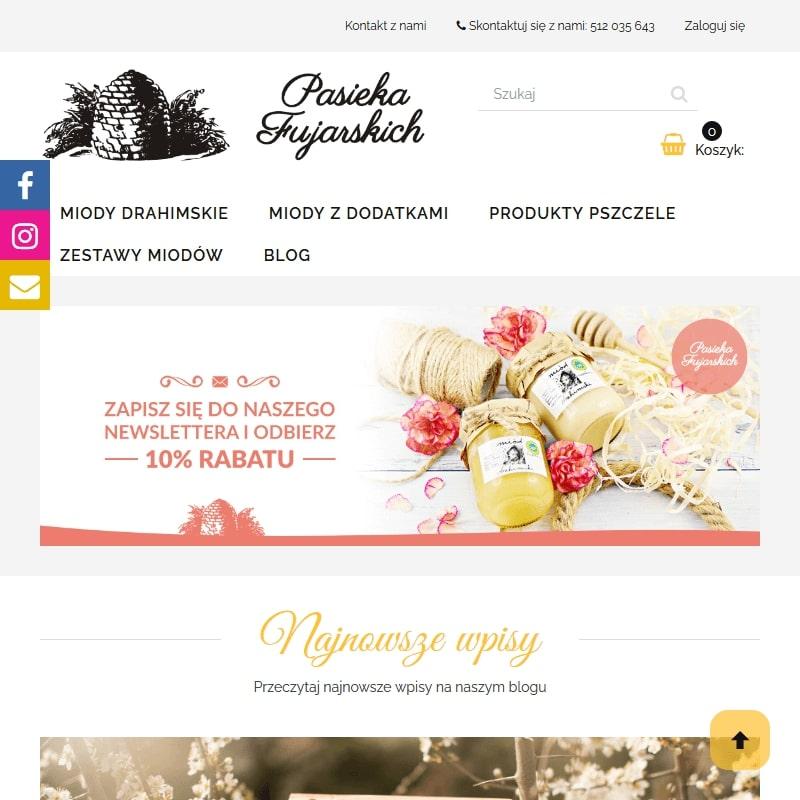 Polski miód smakowy