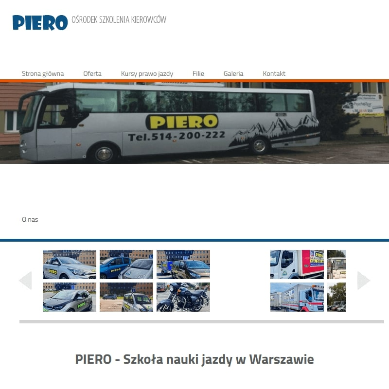 Ośrodek Szkolenia Kierowców w Warszawie