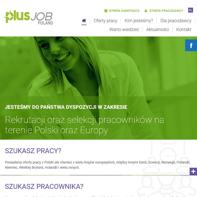 Agencja pracy tymczasowej - PlusJob