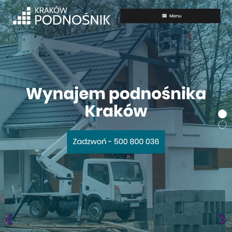 Wynajem zwyżki - Kraków