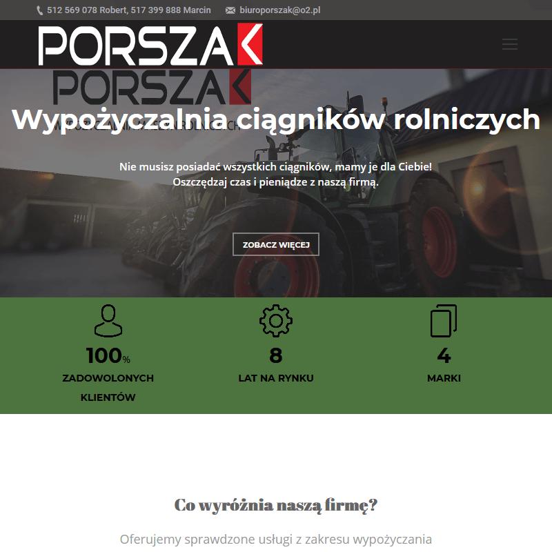 Wynajem ciągnika rolniczego w Mazowieckim
